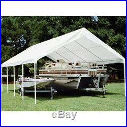 King Canopy 18' 27' Drawstring Cover 18' 27' / White TDS1827-5 Canopy NEW