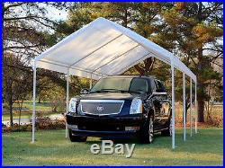 King Canopy Drawstring Cover fits on 10' x 20' frame, White TDS10206-5 Canopy