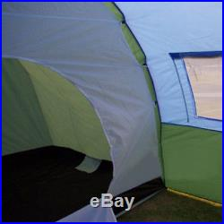 Large Camping 3 seasons tent Waterproof Fiberglass outdoor 5-8 persons