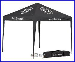 Licensed Jack Daniels 10' X 10' Instant Canopy JD-30062 Branded Products