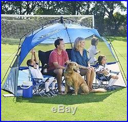 Lightspeed Outdoors Pop Up Sport Shelter Beach Tent Quick Compact Sun Shade Blue