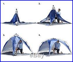 Lightspeed Outdoors Quick Beach Canopy Tent, Blue