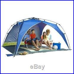 Lightspeed Outdoors Quick Beach Canopy Tent, Blue New