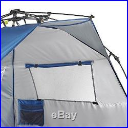 Lightspeed Outdoors Quick Cabana Beach Tent Sun Shelter, Blue New