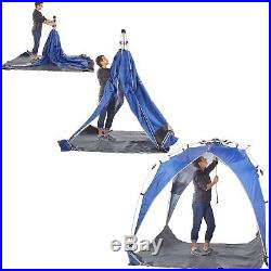Lightspeed Outdoors Quick Canopy Instant Pop Up Shade Tent Blue