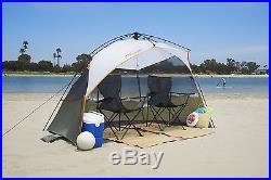 Lightspeed Outdoors Sport Shelter POP UP TENT, Beach Tent SUN SHELTER, Blue