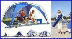 Lightspeed Outdoors Tent Canopy Umbrella Beach Sport Portable Sun Camping Park