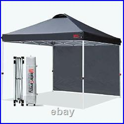 MASTERCANOPY Patio Pop Up Instant Shelter Beach Canopy with 1 Side Wall Bette