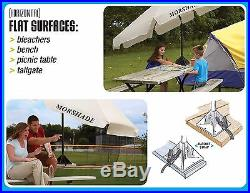 MORSHADE 180 Portable Shade Sports Umbrella Outdoor Canopy Shelter 9Ft