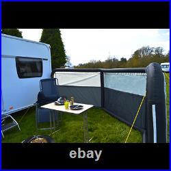 Maypole Inflatable Windbreak 6m 3 Panels Single Inflation Point Caravan