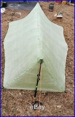 Mountain Laurel Design Patrol Tarp Solo Green. 75 DCF MLD