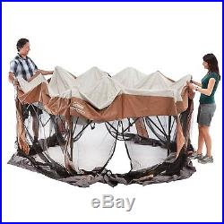 NEW COLEMAN 12 x 10 Ft Instant Screened Canopy Gazebo (Camping/Tailgating)