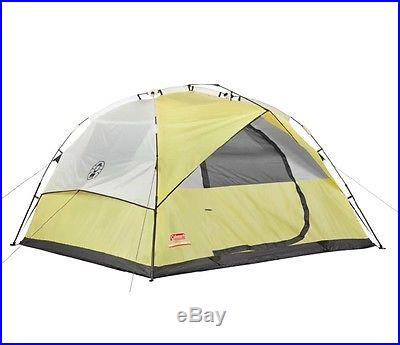 NEW COLEMAN 6 Person Instant Dome Waterproof Camping Double Hub Tent 10' x 9
