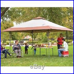 NEW! COLEMAN Camping Tailgating BBQ Back Home Instant Canopy Shelter 13' x 13
