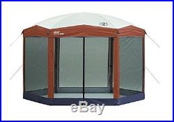 NEW Coleman 12 x 10 Instant Screened Canopy outdoor screen shelter FREE SHIPPING