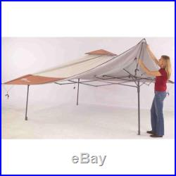 NEW Coleman Easy Set Up Outdoor Shelter Backyard Park Instant Canopy 13 X 13