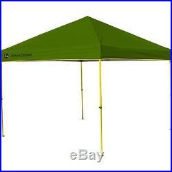 NEW John Deere Instant Canopy, 10 x 10-Feet, Green