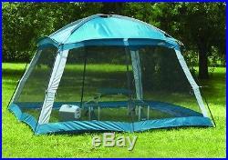 NEW Mesh Screen Arbor Tent, Picnic Gazebo 12 Ft Heavy Duty Canopy Camping Shade