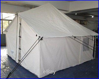 NEW SPIKE CANVAS WALL TENT 10' x 10