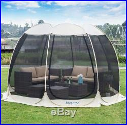 NEW Screen House Automatic Tent Kitchen Canopy Dining Gazebo Pop Up 12' Best One