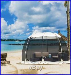 NEW Screen House Camping Tent Kitchen Canopy Dining Gazebo Pop Up Sun Shade 12