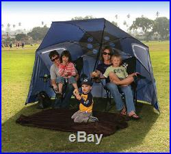 NEW Sport-Brella XL Portable Sun and Weather Shelter (Steel Blue)