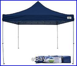 Navy 12x12 Outdoor Canopy Instant Cover 12' Top Gazebo Tent Patio Garden Shade