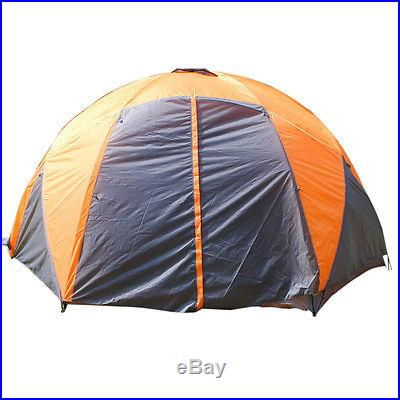 New 8-10 Person Four Seasons Waterproof Large Family Camping Tent #C541