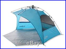New LL Bean Sunbuster Folding Beach Shelter Blue 7'11x4'11 Ht 4'6 5 Star Rate