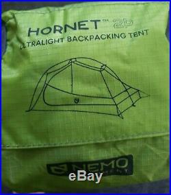 New Nemo Hornet Ultralight Backpacking Tent 2P