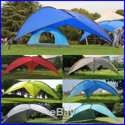 New Outdoor Sports Waterproof Tent Camping Hiking Family Awning BBQ Punta Canopy
