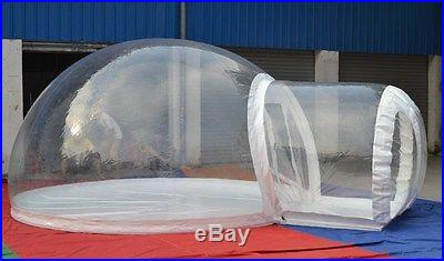 New inflatable tent, Camping tent, Bubble Inflatable Clear Tent, Outdoor tent