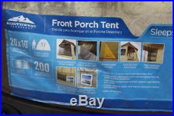 Northwest Territory 10-Person Front Porch Cabin Tent