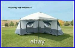 OZARK TRAIL 8 PERSON L-SHAPED CONNECTENT TENT Brand New FREE SHIPPING