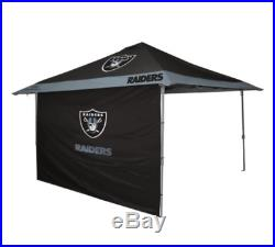 Oakland Raiders 12 x 12 Eaved Canopy Tailgate Party Tent NFL Team Pop Up