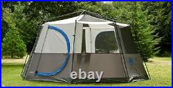 Octagon Family Tent 8 Person in Blue Coleman Cortes Glamping Camping Outdoors