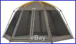 Outdoor Campsite Backyard Screened Wall Shade House Canopy Picnic Tent NEW