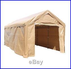 Outdoor Canopy Carport Tent Aleko Heavy Duty Storage Sheds Patio Garden Shelter