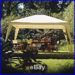 Outdoor Canopy Gazebo Shelter 12x10 Backyard Patio Furniture Shade Aluminum