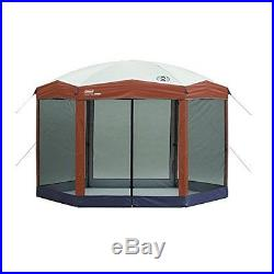 Outdoor Gazebo Canopy Screen Tent Vaulted Ceiling UV Protection Camp Carry Bag