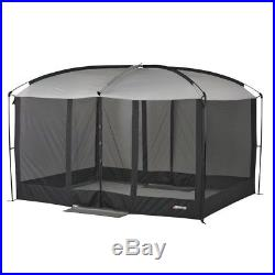 Outdoor Gazebo Screened House Magnetic Door Shade Summer Eat No Insects Camping