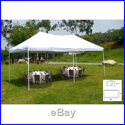 Outdoor Party Tent Event 20 x 10 Canopy Polyester Taffeta Protection Shade White