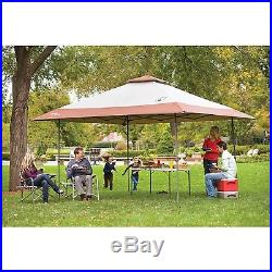 Outdoor Pop Up Canopy Tent COLEMAN Gazebo Patio Furniture Shelter Camping Beach