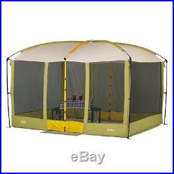 Outdoor Screen House Magnetic Doors Canopy Tent Camping Shelter Bug Proof Picnic