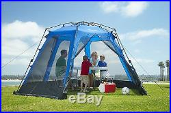 Outdoor Screen House Pop Up Canopy, Blue