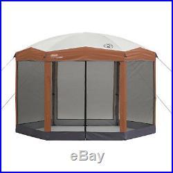 Outdoor Screened Canopy Gazebo Shade Backyard Instant Tent UV Guard Protection