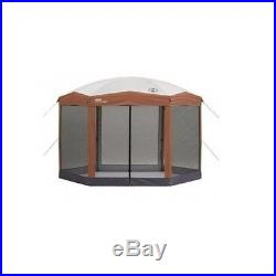 Outdoor Screened Canopy Tent Camping Gear Coleman Gazebo Instant Pop Up Shelter
