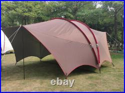 Outdoor Waterproof Oxford Sunshade Large Space Family Party Camping Tent Tunnel