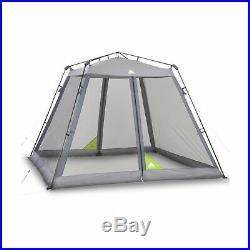 Ozark Trail 10' x 10' Instant Screen House Gray Sun Shade Canopy Shelter