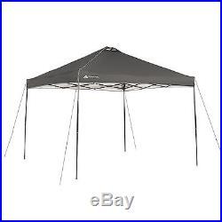 Ozark Trail 10' x 10' x 112 Instant Canopy, Dark Grey 817427012567